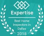 Expertise Top 20 Home Inspectors Award for DFW Area